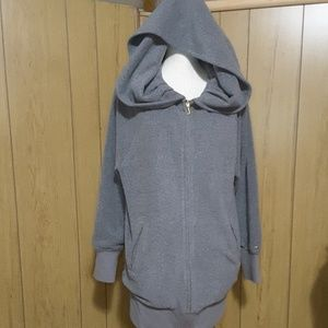 2XL Gray Juicy Couture Hoodie